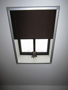 details about skylight pleated roof blinds to fit velux windows sizes gvt 154 conservation