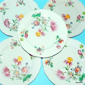 GREAT ANTIQUE CHINESE EXPORT PORCELAIN PLATES 18THC PINK FAMILLE ROSE
