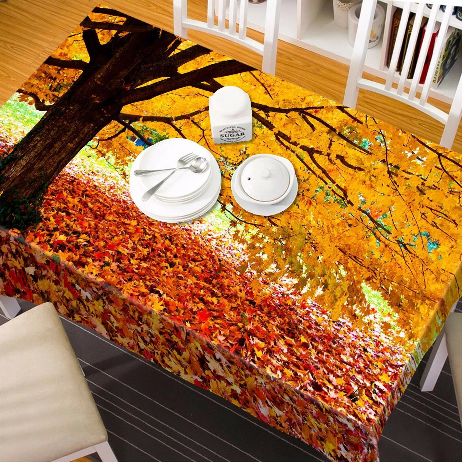 3D Autumn 8334 Tablecloth Tablecloth Tablecloth Table Cover Cloth