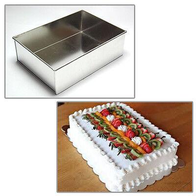 unique rectangle 8 mariage anniversaire noel cake tins moules a gateaux ebay