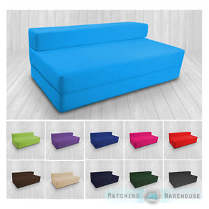Image Is Loading Cotton Twill Z Bed Double Size Fold Out