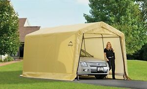 ShelterLogic 10x15 Storage Shed Auto Shelter Portable