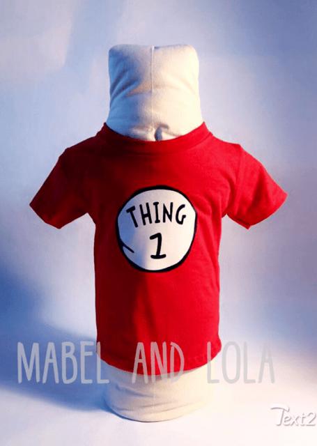 Thing 1 2 Dr Seuss Themed Birthday Party Shirt Bro Sis 1 2 3 4 5 6 Ebay