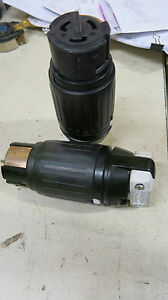 Hubbell CS8364C, 50 Amp 250 Volt 3 Phase 3 Pole 4 Wire