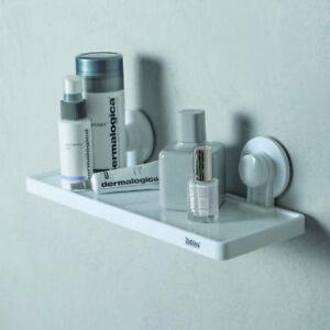 details sur serviteur de douche sans percage etageres murale salle de bain jusqu a 4 kg