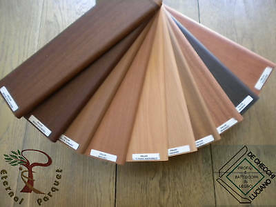 100 Metri Lineari Battiscopa In Legno 70x10 25 Essenze Ebay