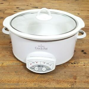 Automatic Slow Cooker 38511 Glass Lid