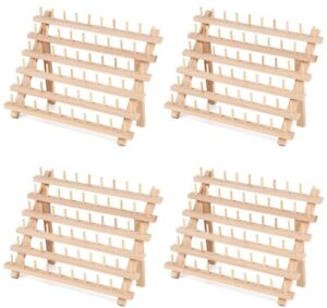 details about 4 piece braiding hair rack wooden braiding hair holder