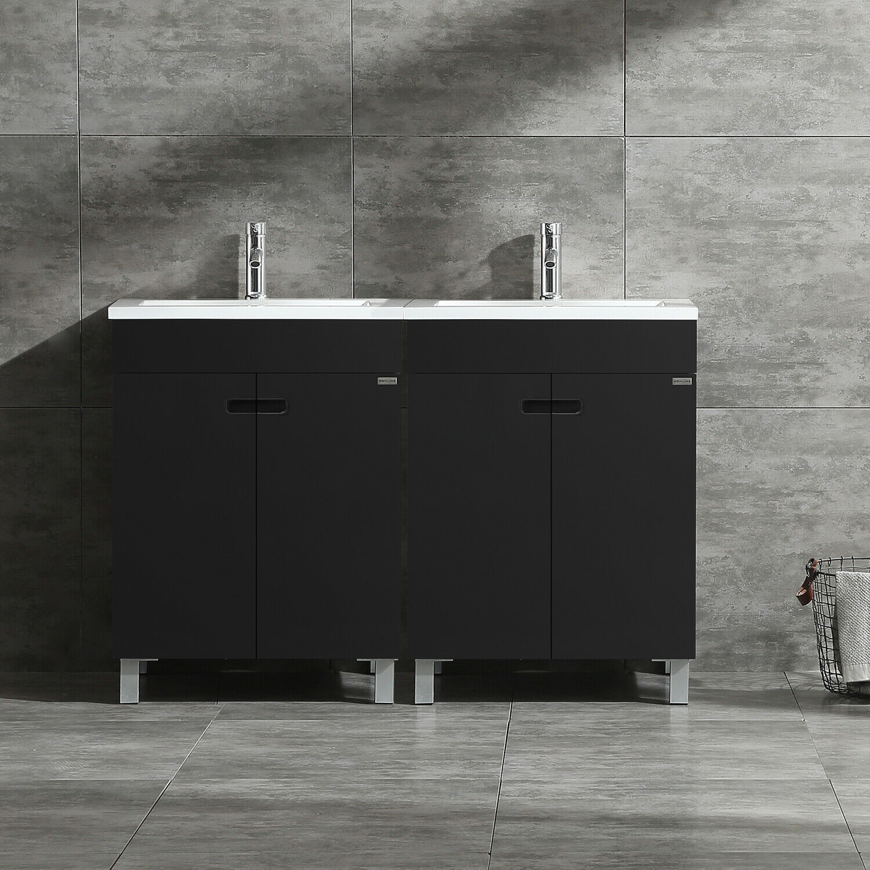 Kubebath Dolce 48 Inch Double Sink Bathroom Vanity For Sale Online Ebay