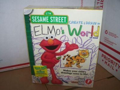 Sesame Street: Create & Draw in Elmo's World (PC, 1999) | eBay