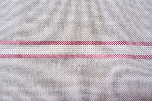 stamford stripe francais en lin rouge largeur 280cm 108 rideau tissu