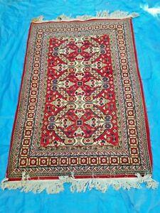 details sur ancien tapis d azerbaidjan annee 70 80 95 x 130