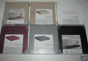 details sur tablette etagere 23x23 cm epaisseur 38 mm fixation invisible 5 colori au choix