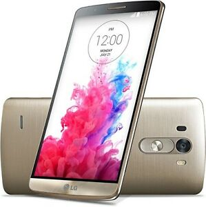 "Gold Unlocked 5.5"" New LG G3 D850 32GB 13MP Cellphone 4G LTE WIFI GPRS"