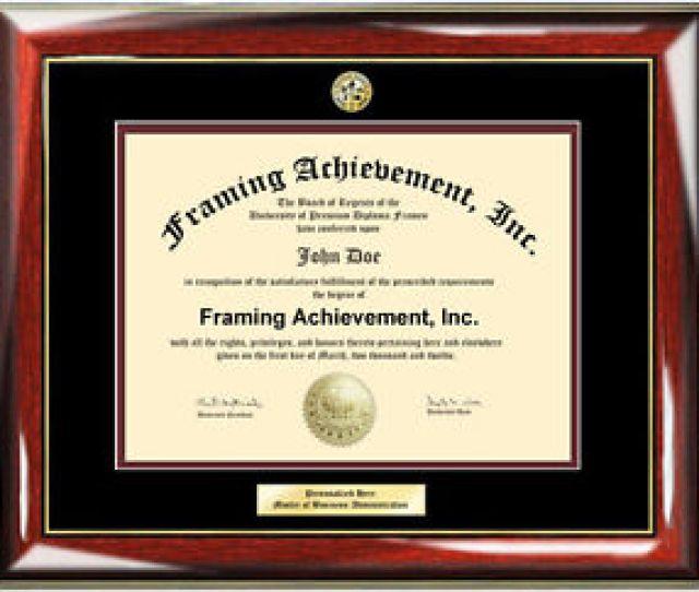 Image Is Loading Diploma Frames Engraved Certificate Frame University Degree Logo