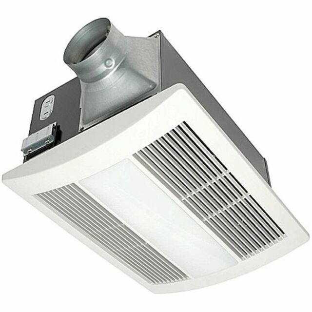panasonic fv 11vhl2 whisperwarm 110 cfm ceiling exhaust fan with light heater