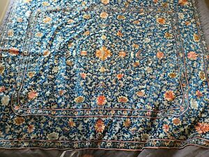 Antique Chinese Silk on Silk Embroidery 18-19th Century