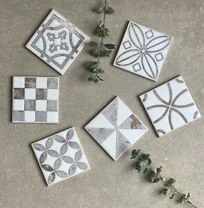 details about small 10x10cm decorative porcelain wall floor tile 6 variant designs