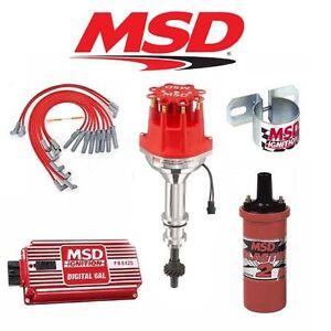 Msd Ignition Kit Digital 6al Distributor Wires Coil
