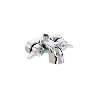 heavy duty 3 3 8 centers chrome plated diverter clawfoot tub faucet new ebay