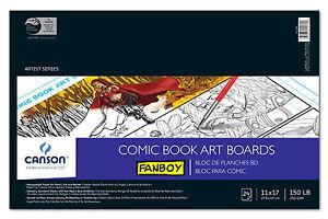 Fanboy Comic Book Art Boards 11X17