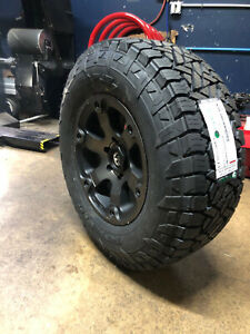 17x9 Fuel Beast D564 Wheels 33 Gripper At Tires Package