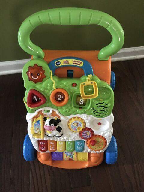 VTech Sit to Stand Learning Walker Baby Learn to Walk Toy ...