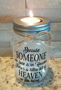 Download Because Someone We Love is in Heaven tealight candle ...