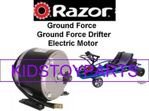 New Razor Ground Force Drifter Go Kart Electric Motor | eBay