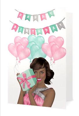 Pink Green Fabulous Birthday Card Ebay