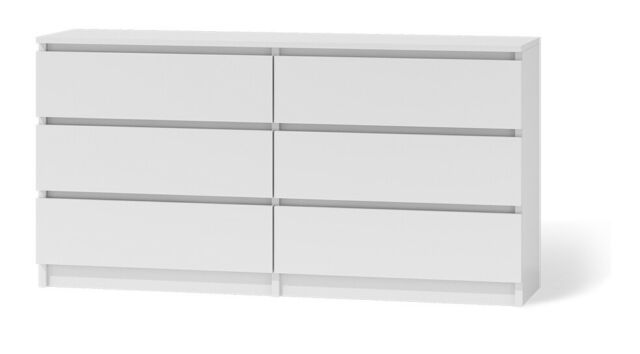 Commode Tes Marbella 6 120 Cm Cabinet To Bedroom 6 Drawers Shelves Ebay