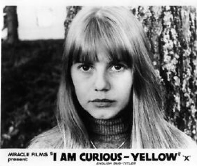Image Is Loading I Am Curious Yellow Original 8x10 Lobby Card
