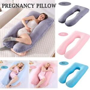 details about maternity pregnancy nursing sleeping body support feeding boyfriend pillow 2020