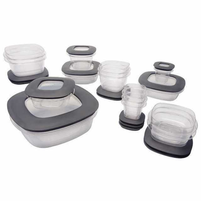 Rubbermaid Premier 30 Piece Food Storage Set with Easy Find Lids New in Box 2