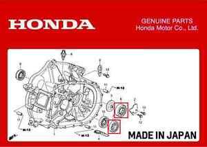 GENUINE HONDA TRANSMISSION GEARBOX BEARINGS CIVIC TYPE R EP3 INTEGRA DC5 K20A | eBay