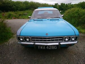 vauxhall ventora FD 3300 manual with overdrive 1969 for restoration