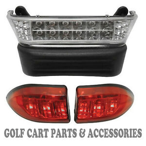 Club Car Precedent Golf Cart LED Headlight & Tail Light