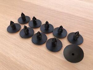 details sur 10 clips agrafe plastique renault spruce passage de roues rivets plastiques 10mm
