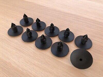 10 clips agrafe plastique renault spruce passage de roues rivets plastiques 10mm ebay