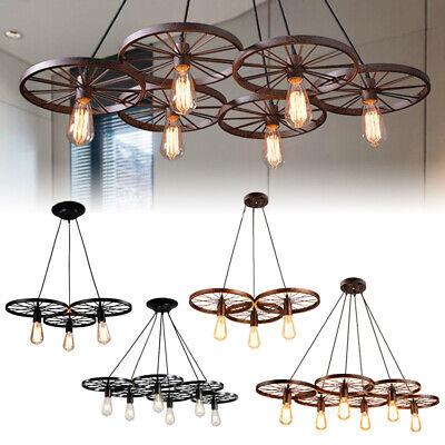 farmhouse rustic chandelier lighting chandeliers antique vintage light unique ebay