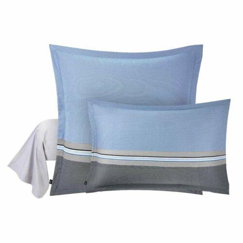 hugo boss paddy cotton sateen pillow sham sheets home garden
