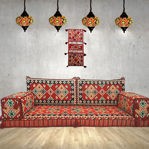 details about arabic majlis sofa floor cushions kilim pillow covers wall decor shi fs13