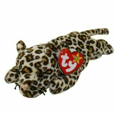 Ty Beanie Babies Freckles the Spotted Leopard Plush Toy - 4066 for sale  online | eBay