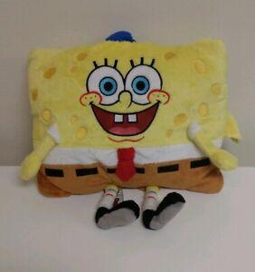 details about 2011 spongebob squarepants soft plush stuffed pillow pet doll peewee sized bb