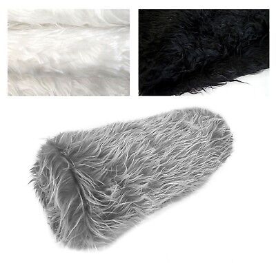 bolster cover faux fur skin curly neck roll tube pillow case custom size fs2 ebay