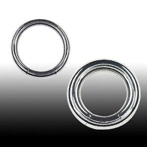 4mm Smooth Segment Ring Brust Ohr Septum Intim Piercing Ring