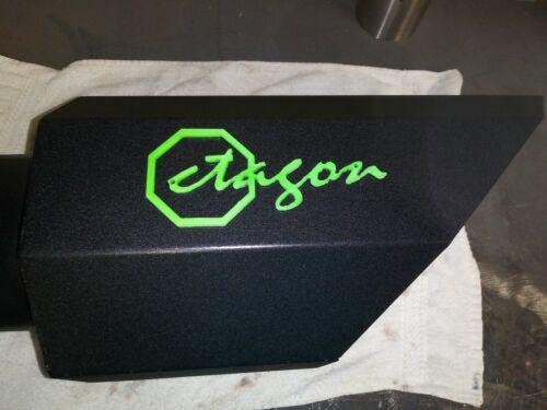 motors 8 inch octagon exhaust tip 4 in inlet 8 in outlet car truck exhausts exhaust parts