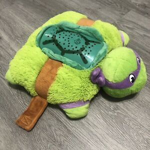 details about tmnt donatello pillow pets dream lite light up plush teenage mutant ninja turtle