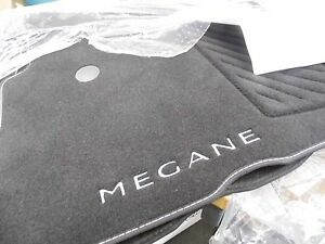 details sur veritable renault megane iii mk3 tapis tapis de sol textile tapis 3 et 5 portes estate afficher le titre d origine