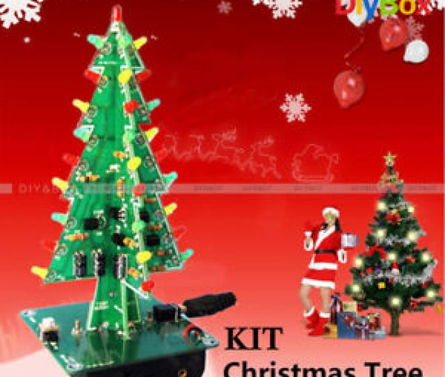 Image Is Loading Diy D Christmas Kit Flashing Light Led Circuit